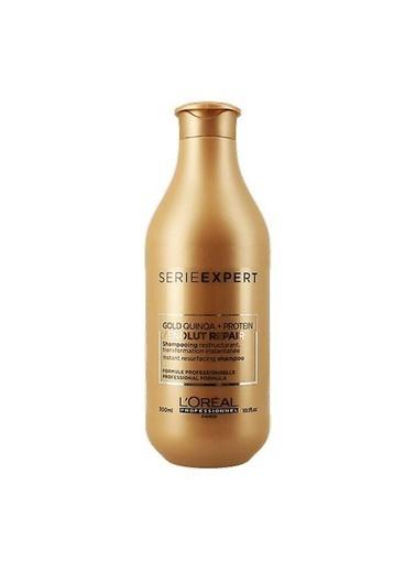 L'Oréal Loreal Absolut Yıpranmış Saçlar İçin Onarıcı Gold Şampuan 300 ml Renksiz